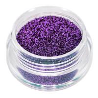 Universal Nails Purppura glitterpuuteri 2 g