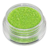 Universal Nails Vaaleanvihreä glitterpuuteri 5 g
