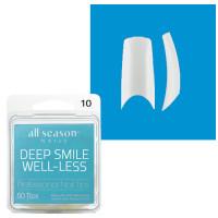 Star Nail Deep Smile Tipit täyttöpakkaus koko 10 50 kpl