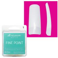 Star Nail Fine Point Tipit täyttöpakkaus koko 1 50 kpl
