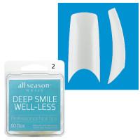 Star Nail Deep Smile Tipit täyttöpakkaus koko 2 50 kpl