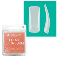 Star Nail Clear Ultra Form Tipit täyttöpakkaus koko 3 50 kpl
