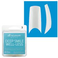 Star Nail Deep Smile Tipit täyttöpakkaus koko 3 50 kpl
