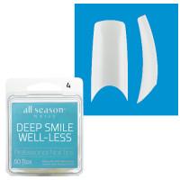 Star Nail Deep Smile Tipit täyttöpakkaus koko 4 50 kpl