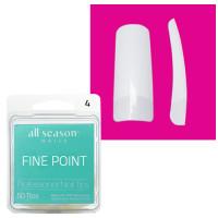 Star Nail Fine Point Tipit täyttöpakkaus koko 4 50 kpl