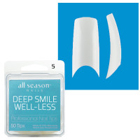 Star Nail Deep Smile Tipit täyttöpakkaus koko 5 50 kpl