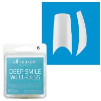 Star Nail Deep Smile Tipit täyttöpakkaus koko 6 50 kpl