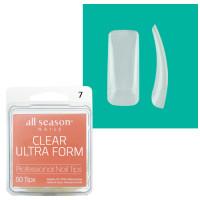 Star Nail Clear Ultra Form Tipit täyttöpakkaus koko 7 50 kpl