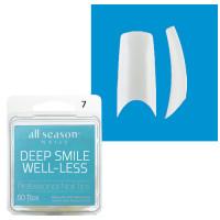 Star Nail Deep Smile Tipit täyttöpakkaus koko 7 50 kpl