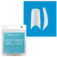 Star Nail Deep Smile Tipit täyttöpakkaus koko 8 50 kpl