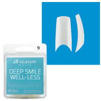 Star Nail Deep Smile Tipit täyttöpakkaus koko 9 50 kpl
