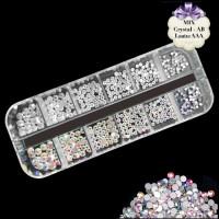 Noname Cosmetics Säkenöivät kirkkaat & AB timantit SW 500 kpl