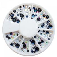Noname Cosmetics 3D-koristetimantit kirkas-AB-musta 240 kpl