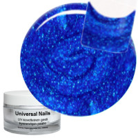 Universal Nails Groovy Blue UV glittergeeli 10 g