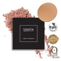 Naturalmente Breathe Make-Up Therapy Compact Foundation Meikkipuuteri #02 Desert Sunset 9 g