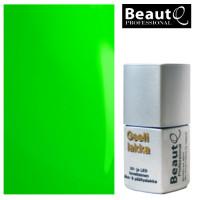BeautQ Professional Neon Vihreä geelilakka 12 mL