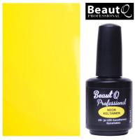 BeautQ Professional Neon Keltainen geelilakka 12 mL