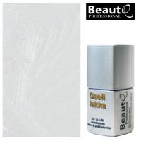 BeautQ Professional Metallin Valkoinen geelilakka 12 mL