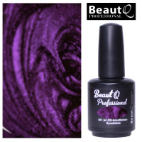 BeautQ Professional Liila Metalli geelilakka 12 mL