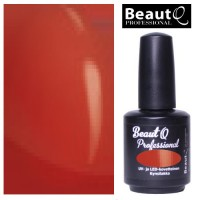 BeautQ Professional Punainen Longlife geelilakka 12 mL