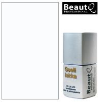 BeautQ Professional Puhdas Valkoinen geelilakka 12 mL