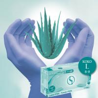Semperguard Aloe Vera & E-vitamiini Nitriilikäsineet L 200 kpl