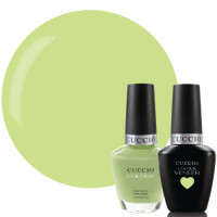 Cuccio Veneer In The Key Of Lime Match Makers geelilakkasetti 2 x 13 mL