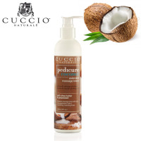 Cuccio Naturalé Coconut Massage Lotion hierontavoide jaloille 236 mL