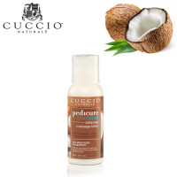 Cuccio Naturalé Coconut Massage Lotion hierontavoide jaloille 56 mL