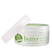 Cuccio Naturalé Baby Butter Blend White Limetta & Aloe Vera kosteusvoide 42 g