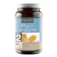 Cuccio Naturalé Sea Salts Milk & Honey karkea merisuolakuorinta jaloille 4422 g