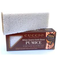 Cuccio White Quartz Earth Stone Luonnollinen kuorintakivi