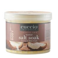 Cuccio Naturalé Coconut & White Ginger Scentual Salt Soak jalkakylpysuola 822 g