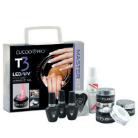 Cuccio T3 LED/UV Self Leveling Master Kit ammattipakkaus