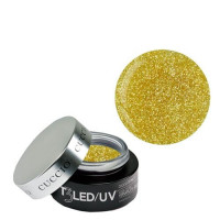 Cuccio Gold Dust T3 LED/UV Self Leveling Cool Cure geeli 28 g