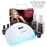 Cuccio Veneer Geelilakka-aloituspaketti Promed UVL-54 UV & LED-uunilla