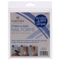 Cuccio Form-a-Nail tippimuotit 24 kpl