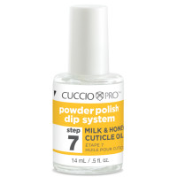 Cuccio Step 7 Cuticle Oil Dip System kynsinauhaöljy 14 mL