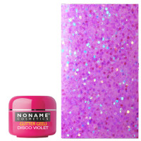 Noname Cosmetics Disco Violet Glitter UV geeli 5 g