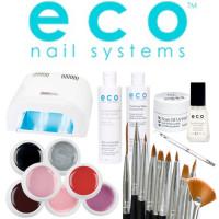Eco Nail Systems Soak Off Aloituspaketti Promed UVL-36 UV-uunilla