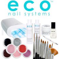 Eco Nail Systems Soak Off Aloituspaketti Promed UVL-36 S UV-uunilla