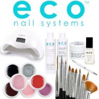 Eco Nail Systems Soak Off Aloituspaketti SUN 5 UV & LED-uunilla