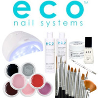 Eco Nail Systems Soak Off Aloituspaketti SUN One UV & LED-uunilla