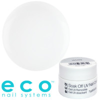 Eco Nail Systems Valkoinen Eco Soak Off geelilakka 7 g