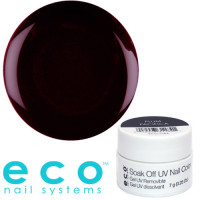Eco Nail Systems Plum Pacifica Eco Soak Off geelilakka 7 g