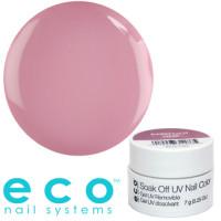 Eco Nail Systems Barefoot Pink Eco Soak Off geelilakka 7 g
