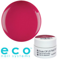 Eco Nail Systems Red Cherry Eco Soak Off geelilakka 7 g