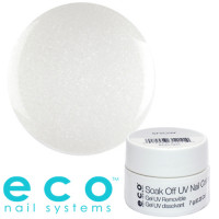 Eco Nail Systems Snow Eco Soak Off geelilakka 7 g