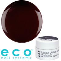 Eco Nail Systems Merlot Eco Soak Off geelilakka 7 g