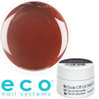 Eco Nail Systems Glimmer Passion Fruit Eco Soak Off geelilakka 7 g